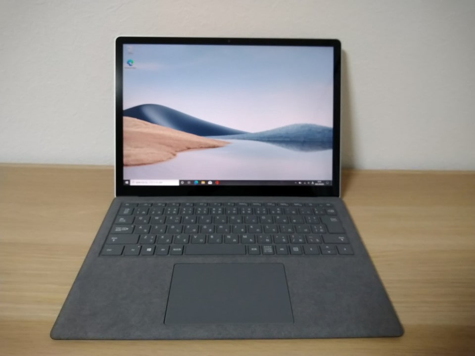 Surface Laptop 4を開く!